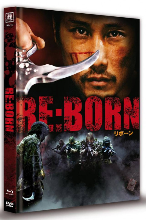Re:Born - Limited Mediabook Edition - Cover C (OmU) [Blu-ray+DVD]