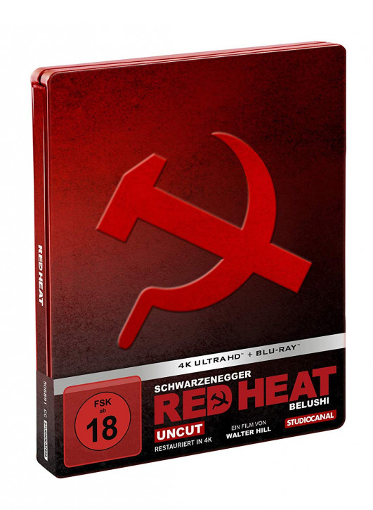Red Heat - Limited Steelbook Edition [4K UHD Blu-ray]