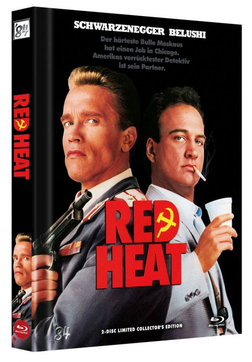Red Heat - Limited Collector's Edition - Cover A [Blu-ray+DVD]