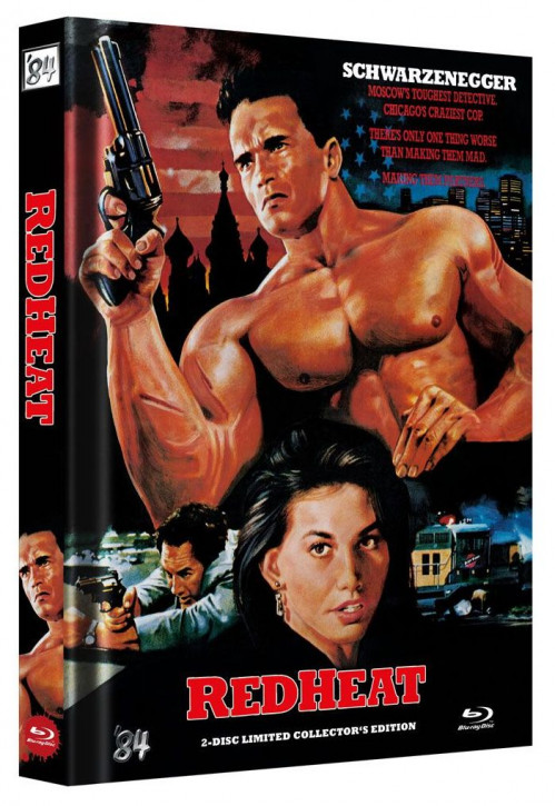 Red Heat - Limited Collector's Edition - Cover C [Blu-ray+DVD]