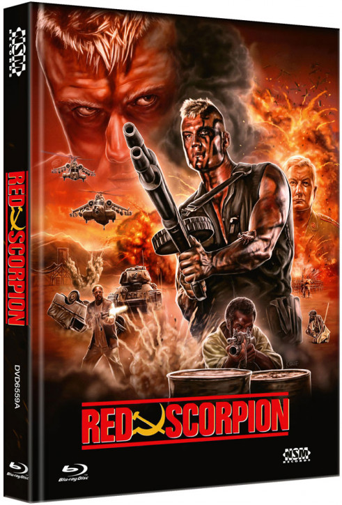 Red Scorpion - Limited Collector's Edition - Cover A [Blu-ray+DVD]