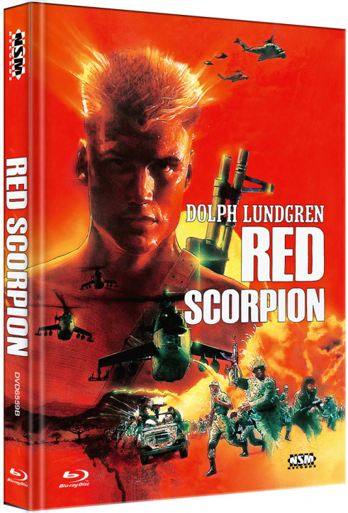 Red Scorpion - Limited Collector's Edition - Cover B [Blu-ray+DVD]