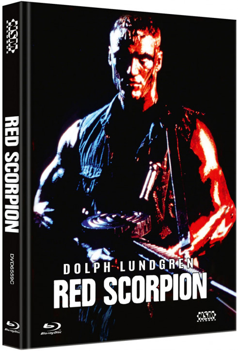 Red Scorpion - Limited Collector's Edition - Cover C [Blu-ray+DVD]