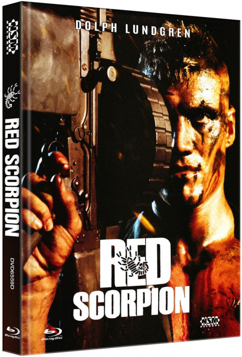 Red Scorpion - Limited Collector's Edition - Cover D [Blu-ray+DVD]
