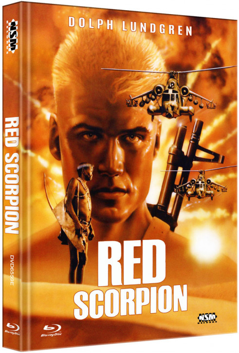 Red Scorpion - Limited Collector's Edition - Cover E [Blu-ray+DVD]