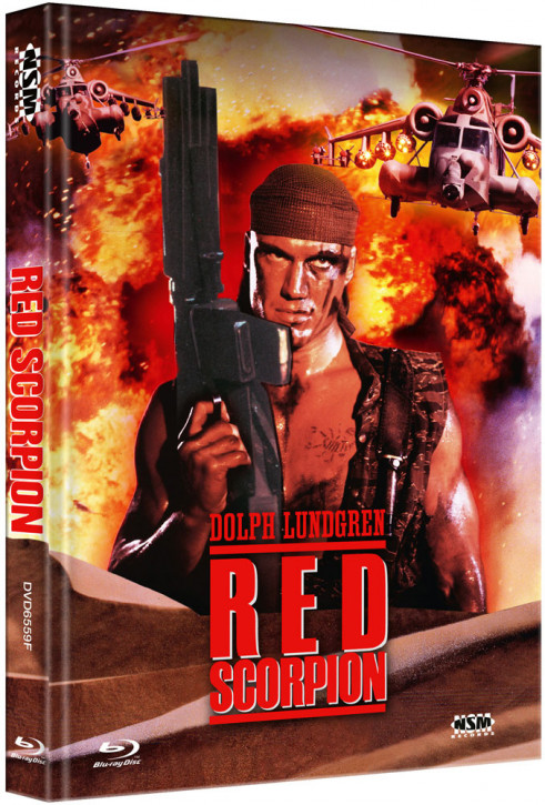 Red Scorpion - Limited Collector's Edition - Cover F [Blu-ray+DVD]