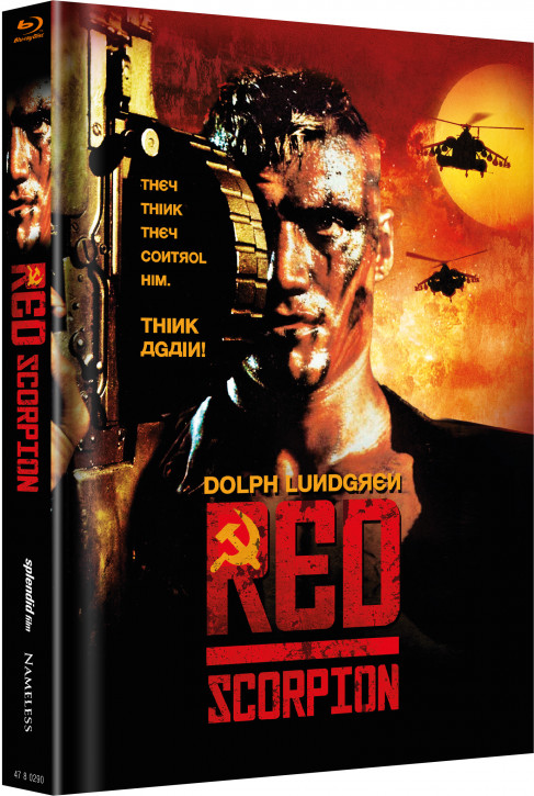 Red Scorpion - Limited Mediabook Edition - Cover A [Blu-ray]
