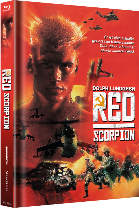 Red Scorpion - Limited Mediabook Edition - Cover C [Blu-ray]