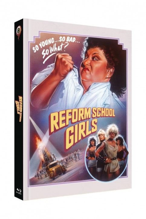 Reform School Girls - Limited Collectors Edition Cover A [Blu-ray+DVD]