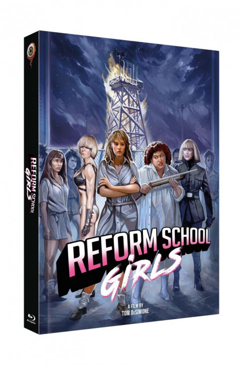 Reform School Girls - Limited Collectors Edition Cover C [Blu-ray+DVD]