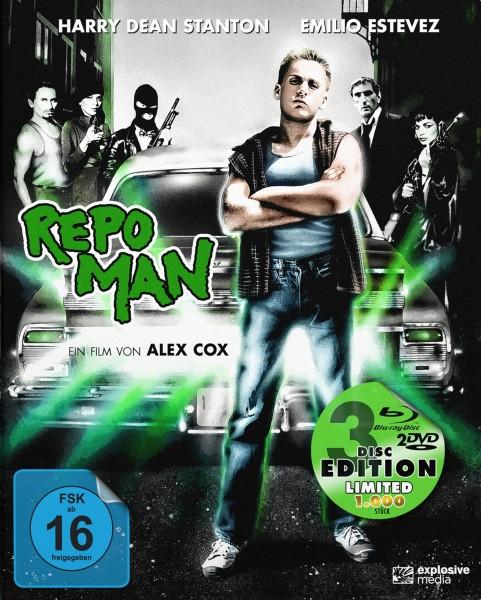 Repo Man - Limited Mediabook Edition [Blu-ray+DVD]