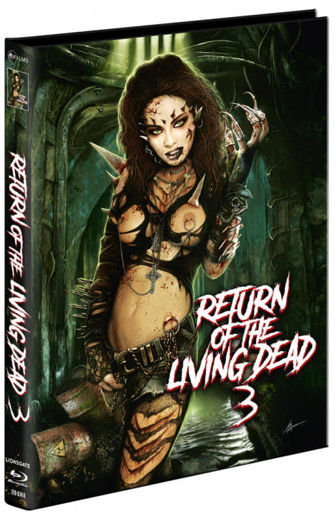 Return of the Living Dead 3 - Mediabook - Cover B [Blu-ray+DVD]