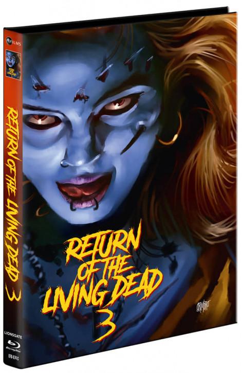 Return of the Living Dead 3 - Mediabook - Cover C [Blu-ray+DVD]