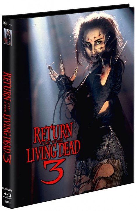Return of the Living Dead 3 - Mediabook - Cover D [Blu-ray+DVD]
