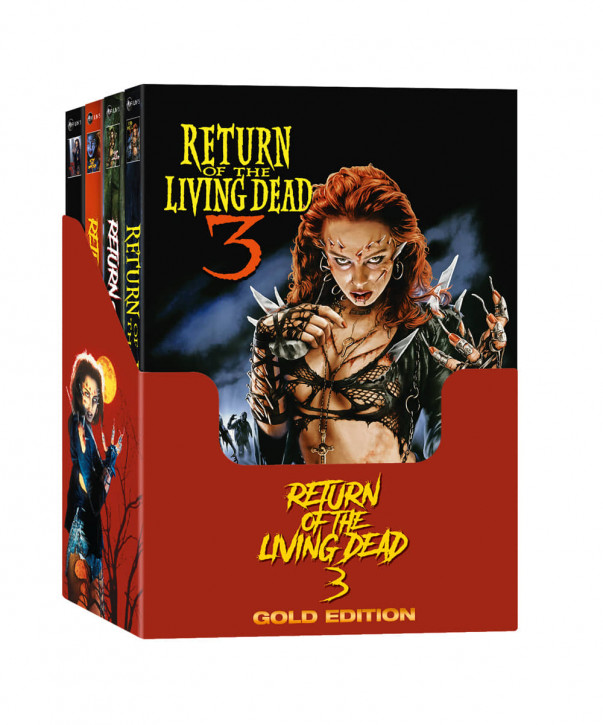 Return of the Living Dead 3 - Mediabook - Gold Edition [Blu-ray+DVD]