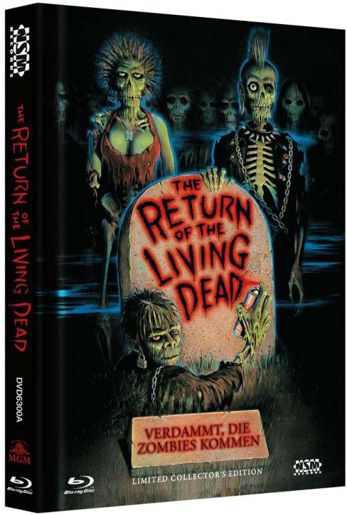 Return of the Living Dead - Limited Collector's Edition - Cover A [Blu-ray+DVD]
