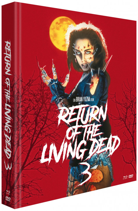 Return of the Living Dead 3  - Limited Mediabook Edition [Blu-ray+DVD]