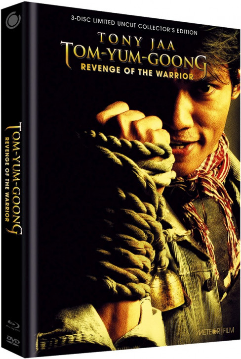 Tom Yum Goong - Revenge of the Warrior - Limited Collectors Edition - Cover A [Blu-ray+DVD]