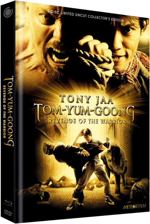 Tom Yum Goong - Revenge of the Warrior - Limited Collectors Edition - Cover B [Blu-ray+DVD]