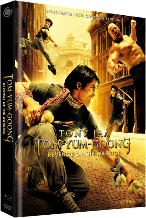 Tom Yum Goong - Revenge of the Warrior - Limited Collectors Edition - Cover C [Blu-ray+DVD]
