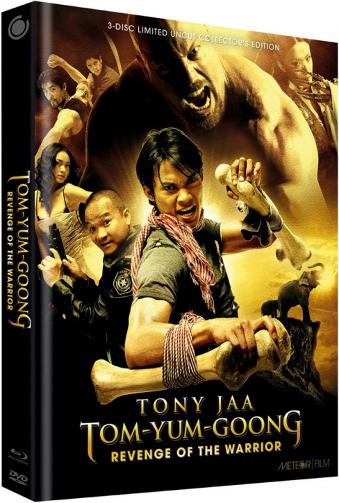 Tom Yum Goong - Revenge of the Warrior - Limited Collectors Edition - Cover D [Blu-ray+DVD]