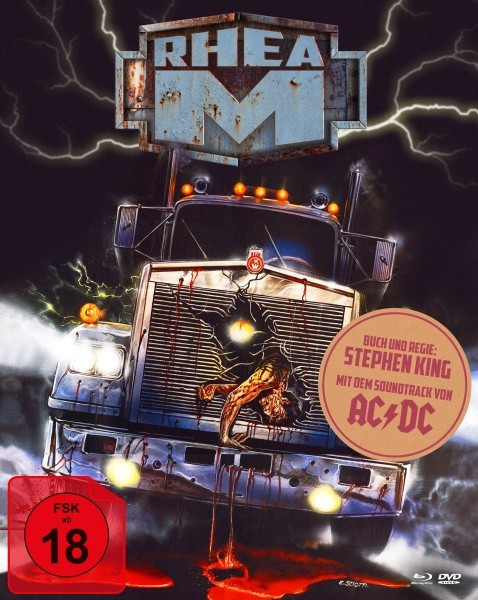 Stephen Kings Rhea M... Es begann ohne Warnung - Limited Mediabook Edition - Cover B [Blu-ray+DVD]