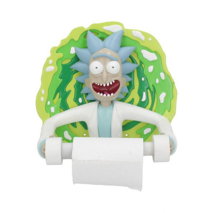 Rick and Morty Toilettenpapierhalter Rick