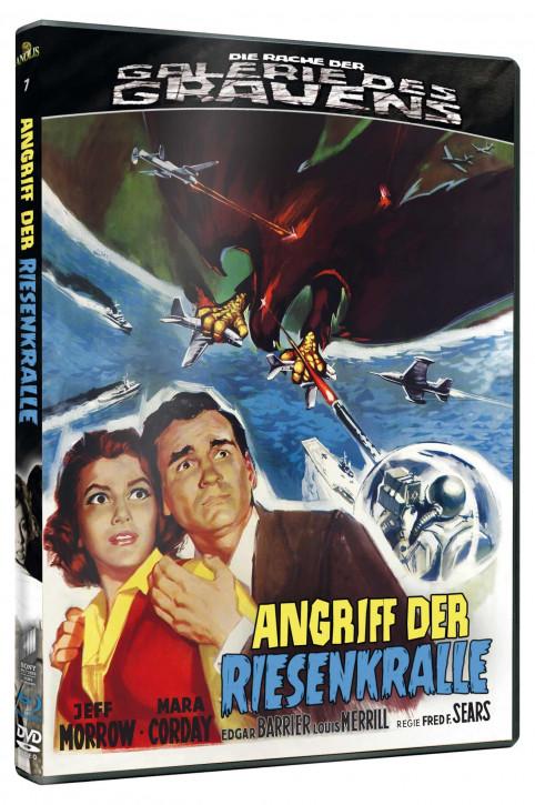 Angriff der Riesenkralle - Die Rache der Galerie des Grauens #7 [Blu-ray+DVD]