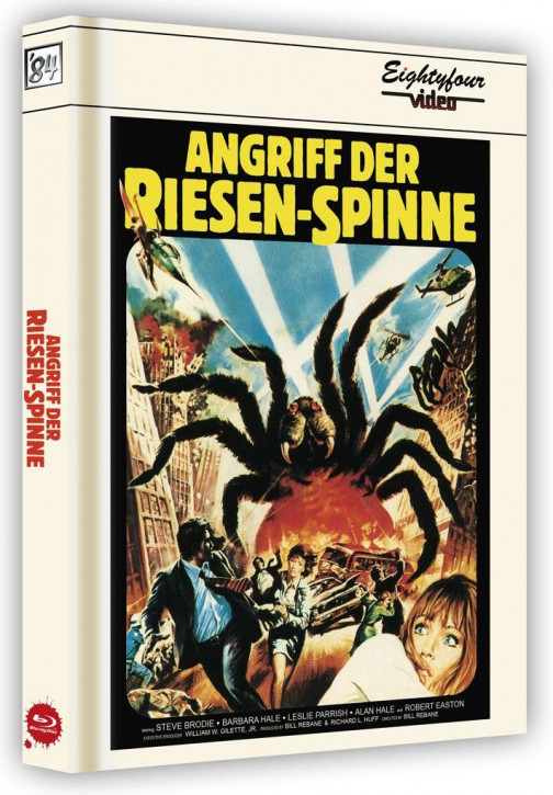 Angriff der Riesenspinne - Limited Collector's Edition - Cover A [Blu-ray+DVD]