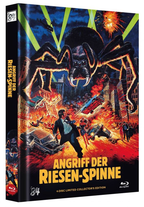 Angriff der Riesenspinne - Limited Collector's Edition - Cover B [Blu-ray+DVD]