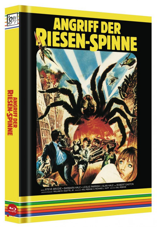 Angriff der Riesenspinne - Limited Collector's Edition - Cover C [Blu-ray+DVD]
