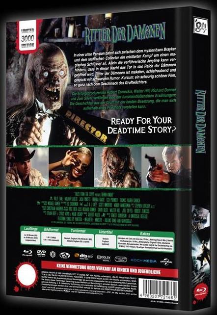 Ritter der Dämonen - Limited Collector's Edition [Blu-ray+DVD]