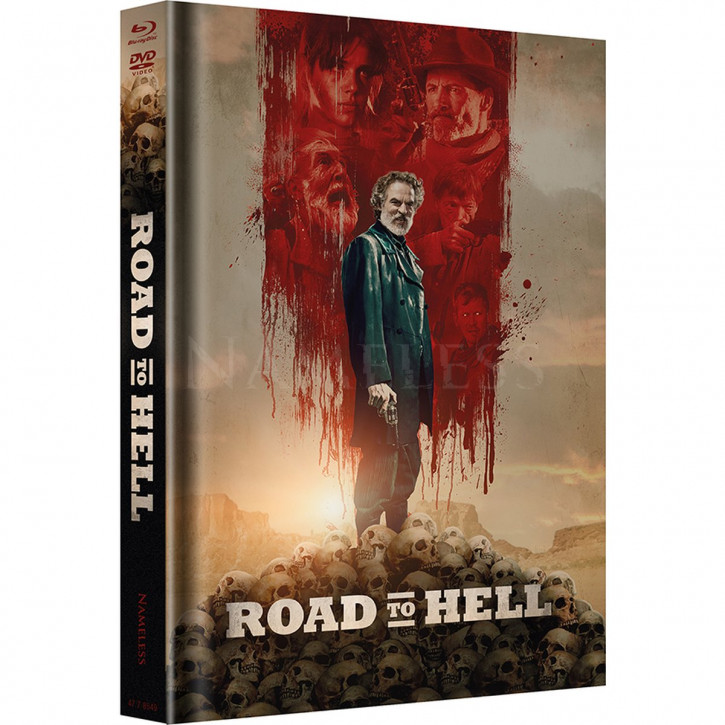 Road to Hell - Limited Mediabook Edition - Cover A [Blu-ray+DVD]