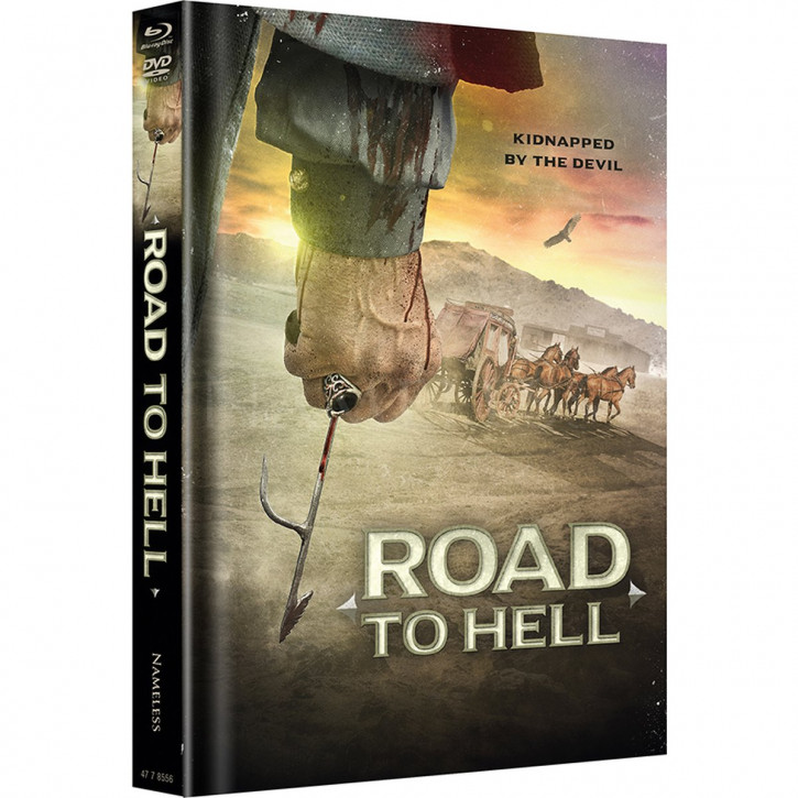 Road to Hell - Limited Mediabook Edition - Cover B [Blu-ray+DVD]