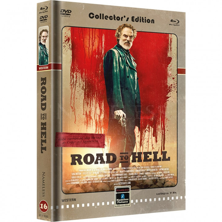 Road to Hell - Limited Mediabook Edition - Cover C [Blu-ray+DVD]