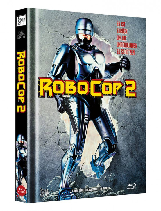 RoboCop 2 - Limited Director's Cut - Cover A [Blu-ray+DVD]