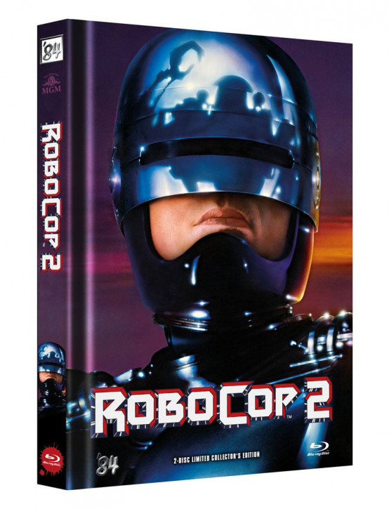 RoboCop 2 - Limited Director's Cut - Cover B [Blu-ray+DVD]