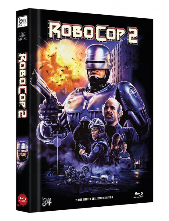 RoboCop 2 - Limited Director's Cut - Cover C [Blu-ray+DVD]