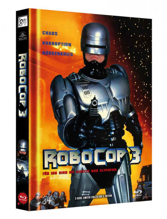 RoboCop 3 - Limited Director's Cut - Cover A [Blu-ray+DVD]