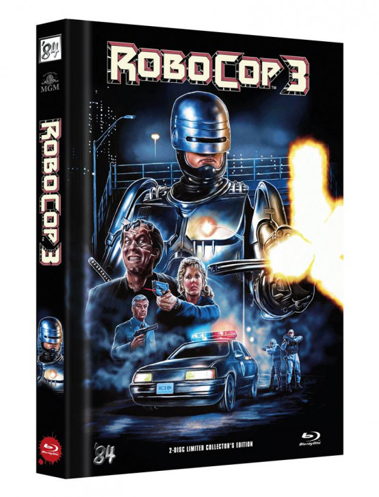 RoboCop 3 - Limited Director's Cut - Cover C [Blu-ray+DVD]