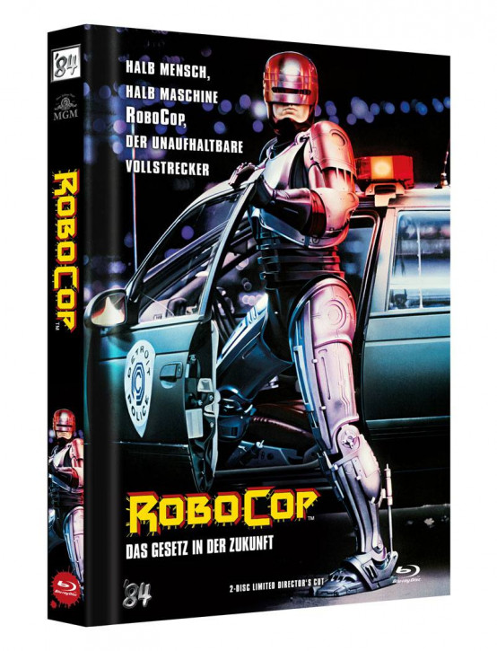 RoboCop - Limited Director's Cut - Cover A [Blu-ray+DVD]