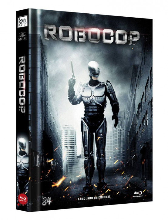 RoboCop - Limited Director's Cut - Cover B [Blu-ray+DVD]