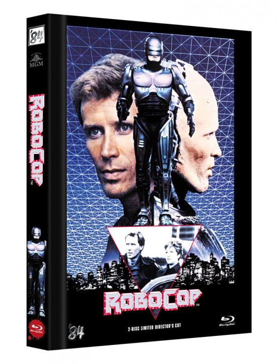 RoboCop - Limited Director's Cut - Cover C [Blu-ray+DVD]