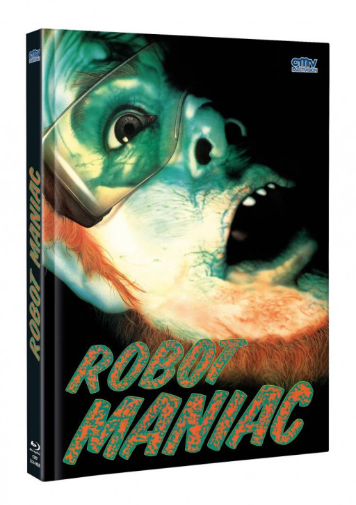 Robot Maniac - Limited Mediabook - Cover A [Blu-ray+DVD]