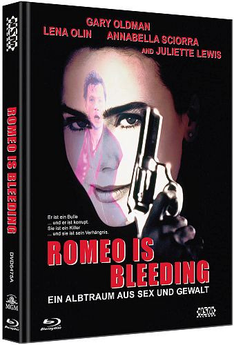 Romeo is Bleeding - Limited Collector's Edition - Cover A [Bluray+DVD]