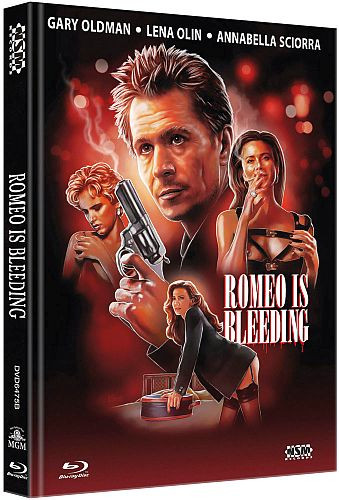Romeo is Bleeding - Limited Collector's Edition - Cover B [Bluray+DVD]