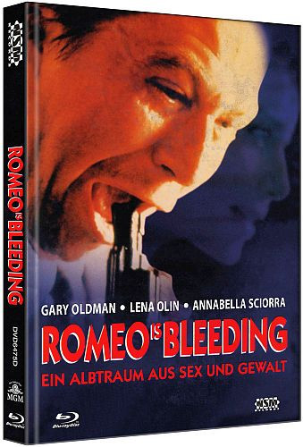 Romeo is Bleeding - Limited Collector's Edition - Cover D [Bluray+DVD]
