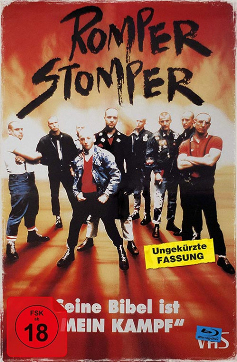 Romper Stomper - Limited Collectors Edition im VHS-Design [Blu-ray]