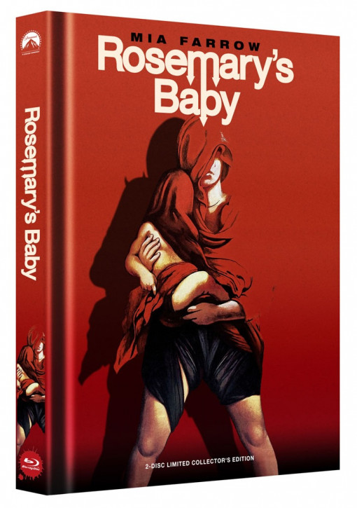 Rosemary's Baby - Limited Collector's Edition - Cover B [Blu-ray+DVD]
