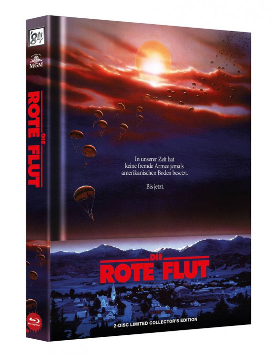 Die Rote Flut - Limited Collector's Edition [Blu-ray+DVD]